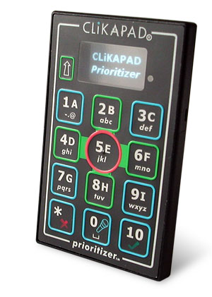CLiKAPAD-prioritizer-keypad