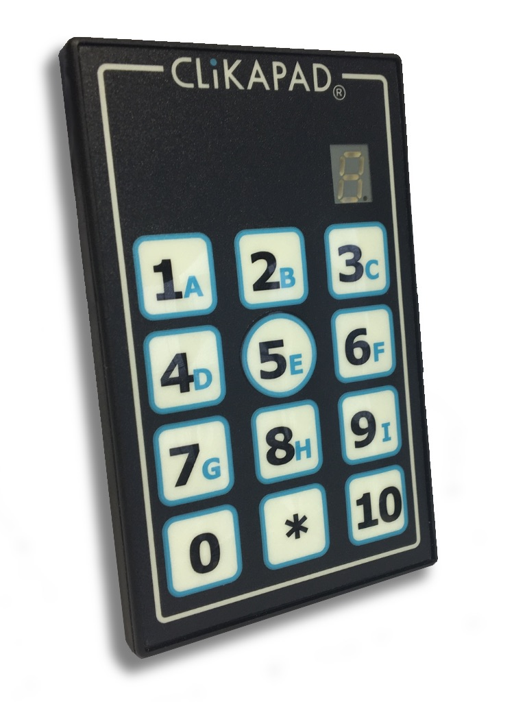 CP37 7 segment LED voting keypad