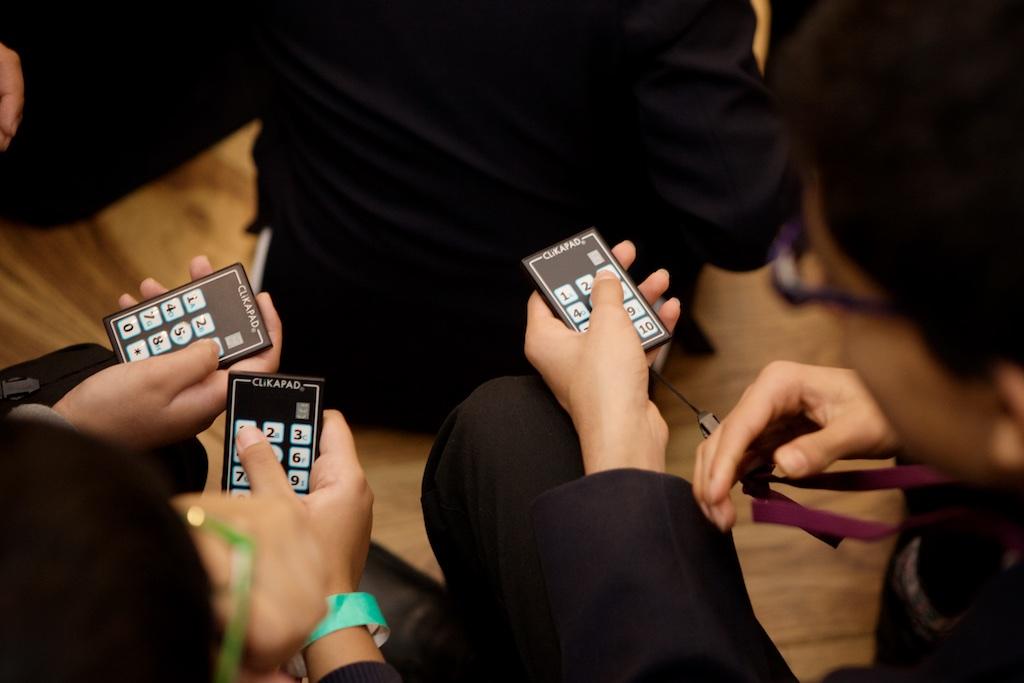Clikapad voting keypad clickers