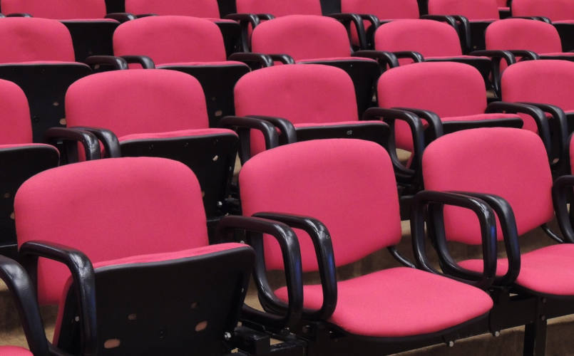 Empty conference venue