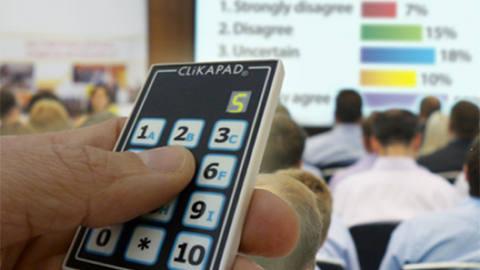 Handheld Audience Response System image