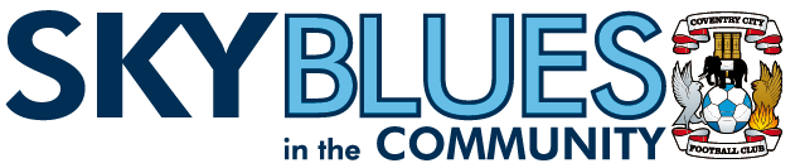 Sky blues in the community large logo